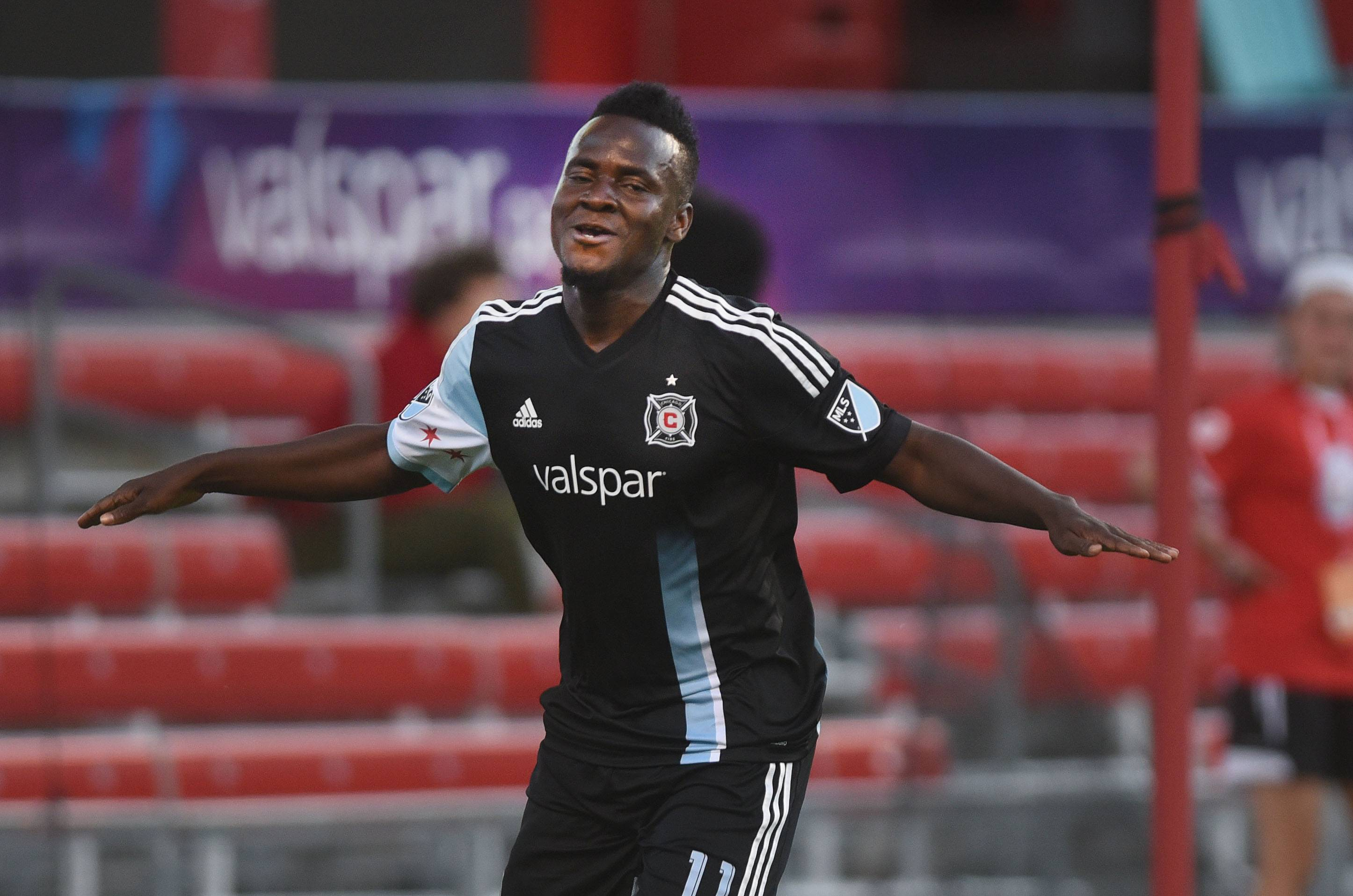 Chicago Fire forward David Accam is under contract for next season as a designated player, with a club option for 2018. But Accam and the club have been talking about a new deal.