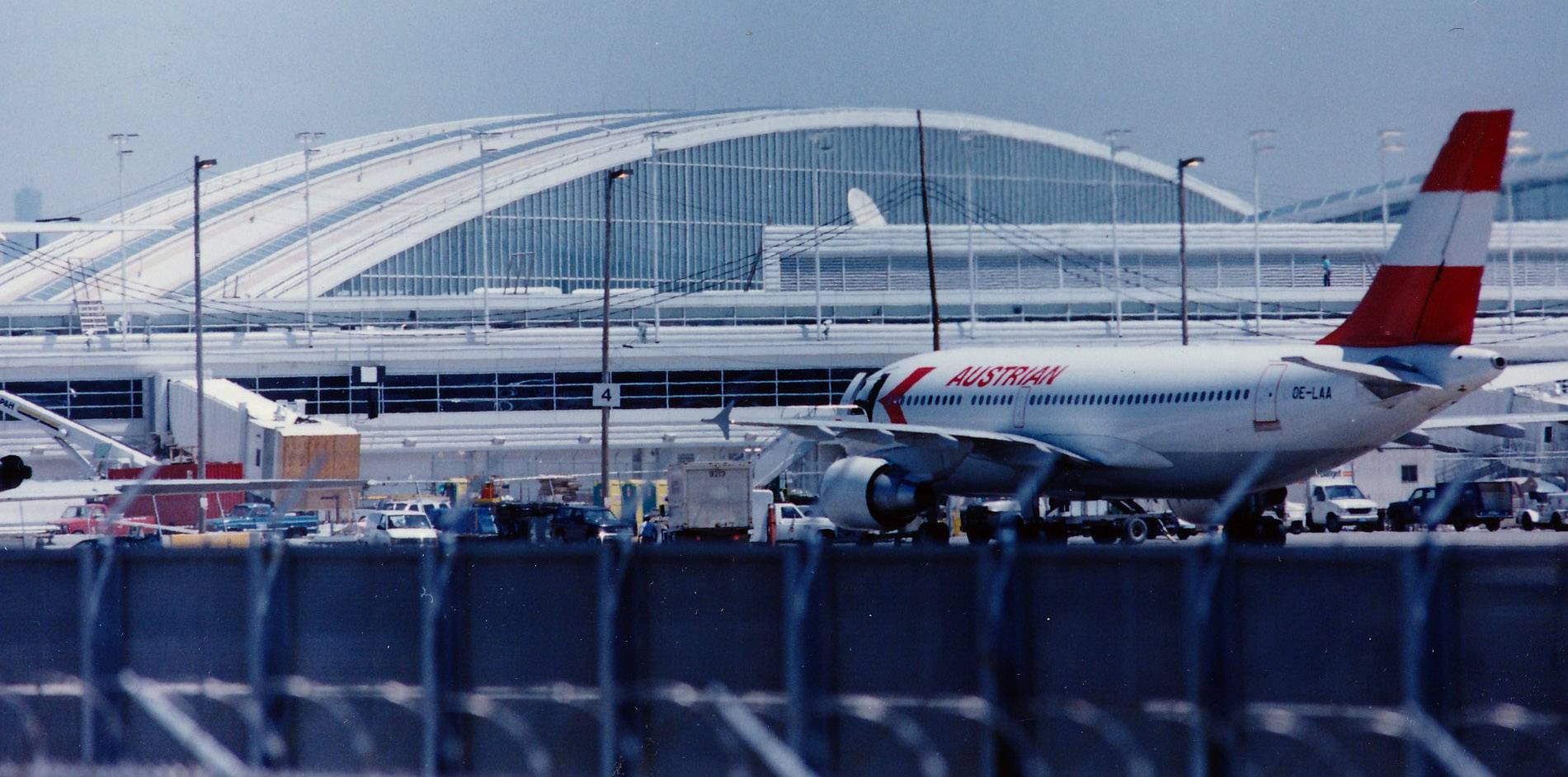 O'Hare International Airport's new international terminal in May of 1993.