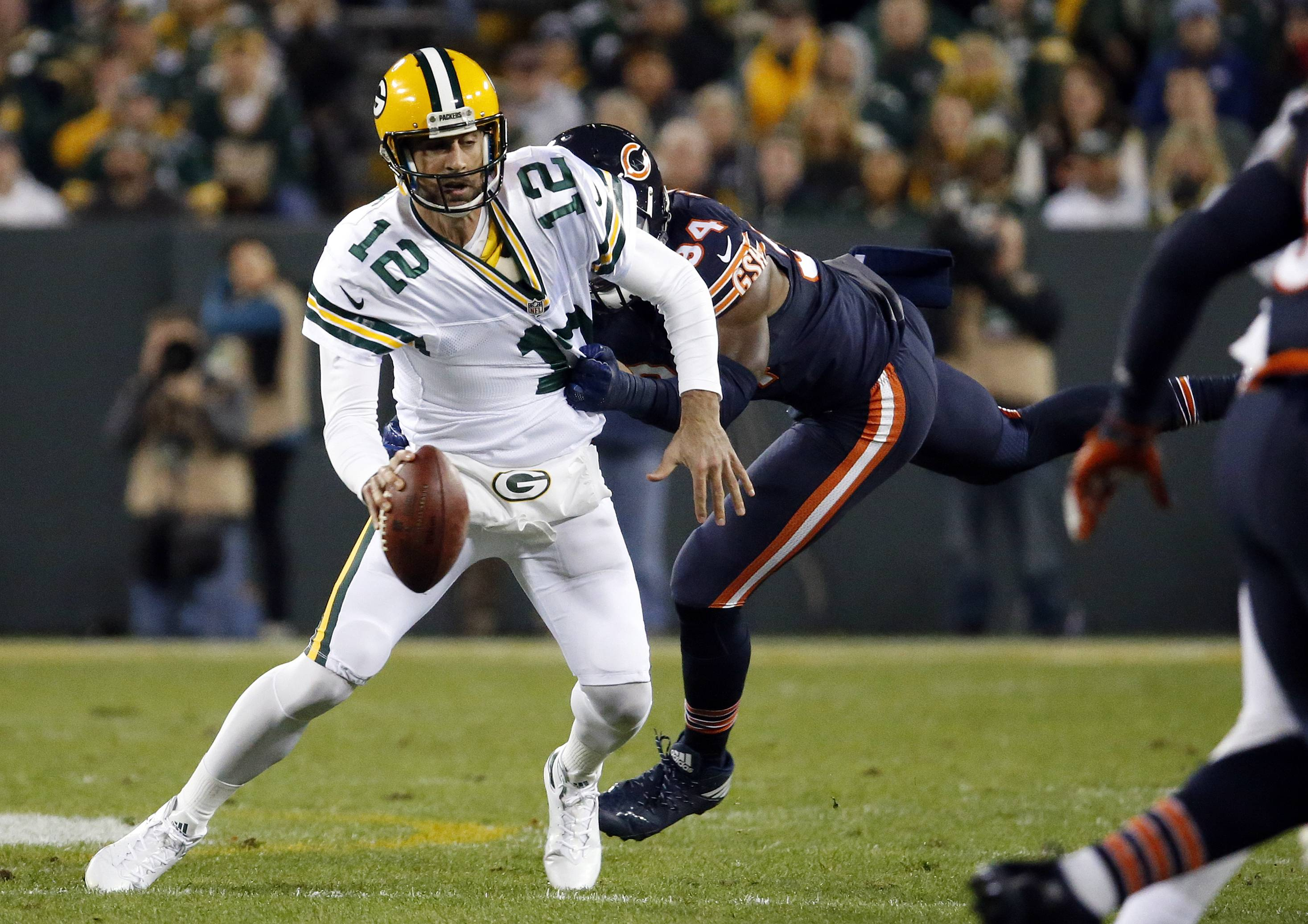 images  chicago bears fall to green bay packers in thursday night football