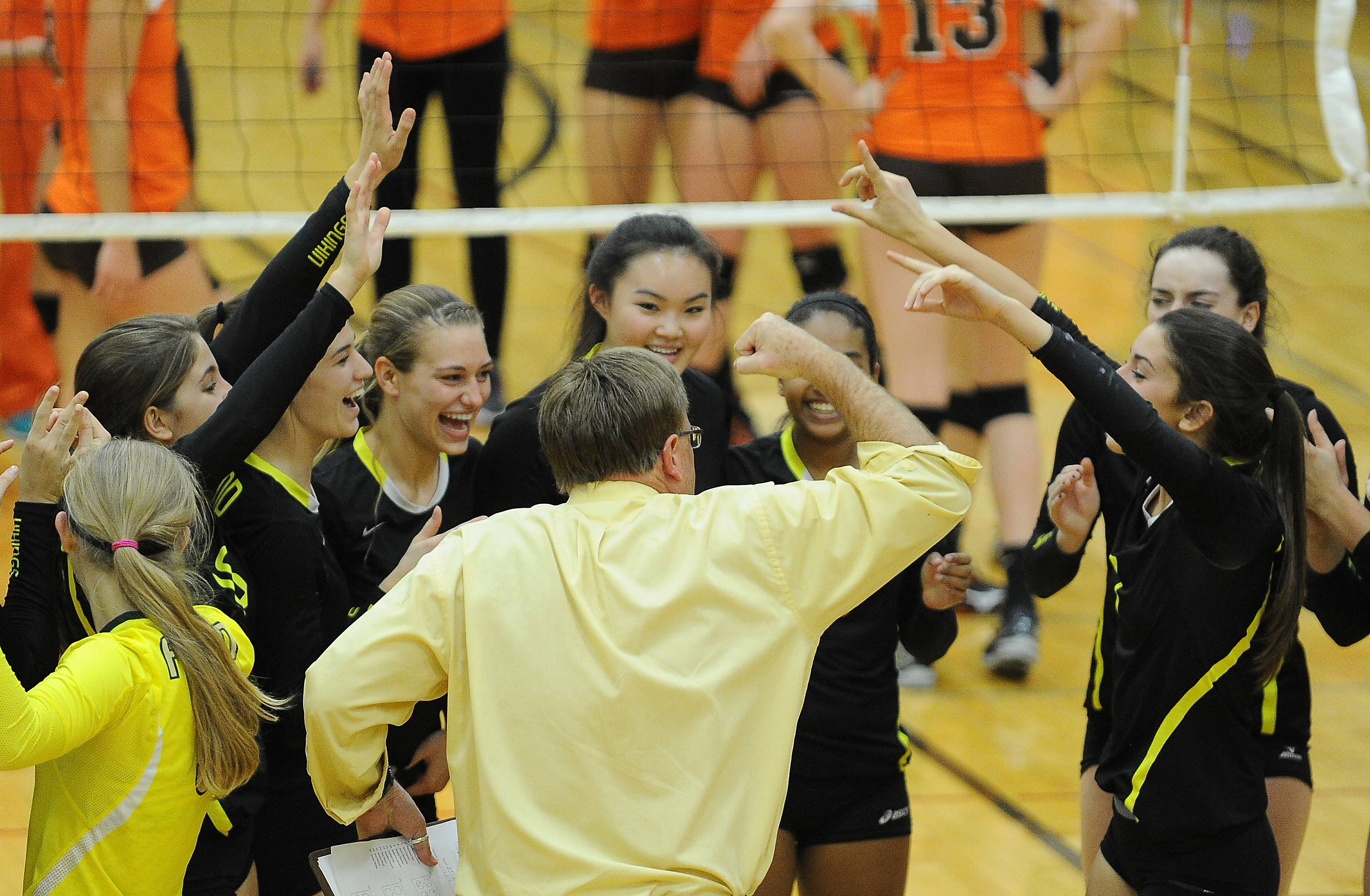 Girls volleyball: Fremd tops Hersey for MSL title