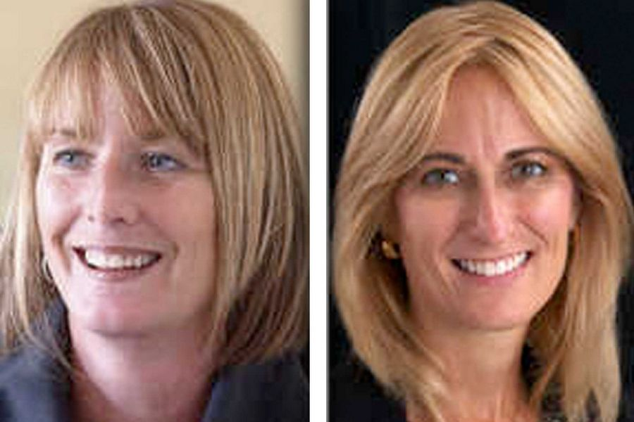 Democratic incumbent Deb Conroy, left, and Republican challenger Heidi Holan are candidates for the state's 46th District House seat.