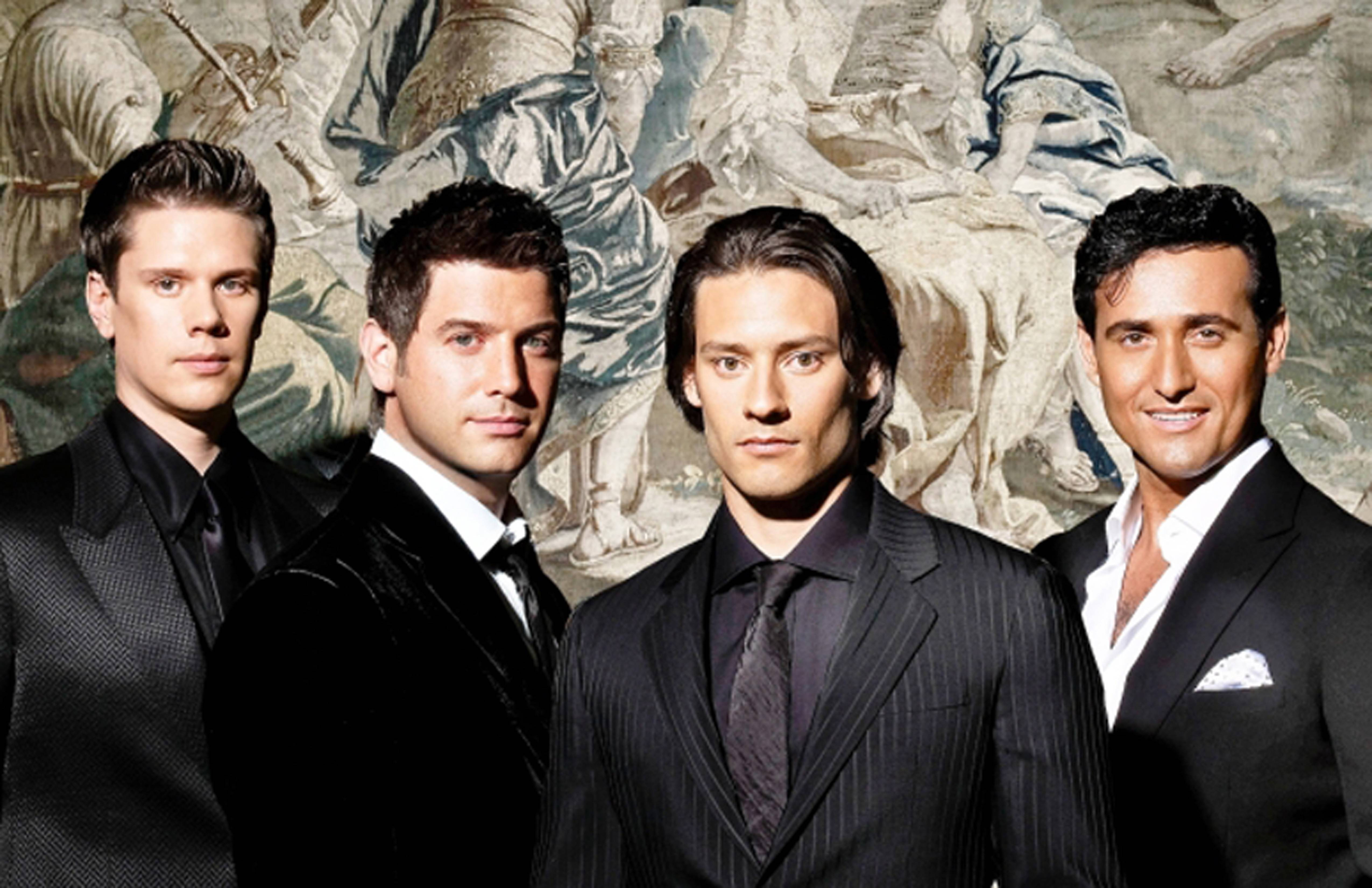 Il Divo performs at the Rosemont Theatre at 8 p.m. Saturday, Oct. 22.