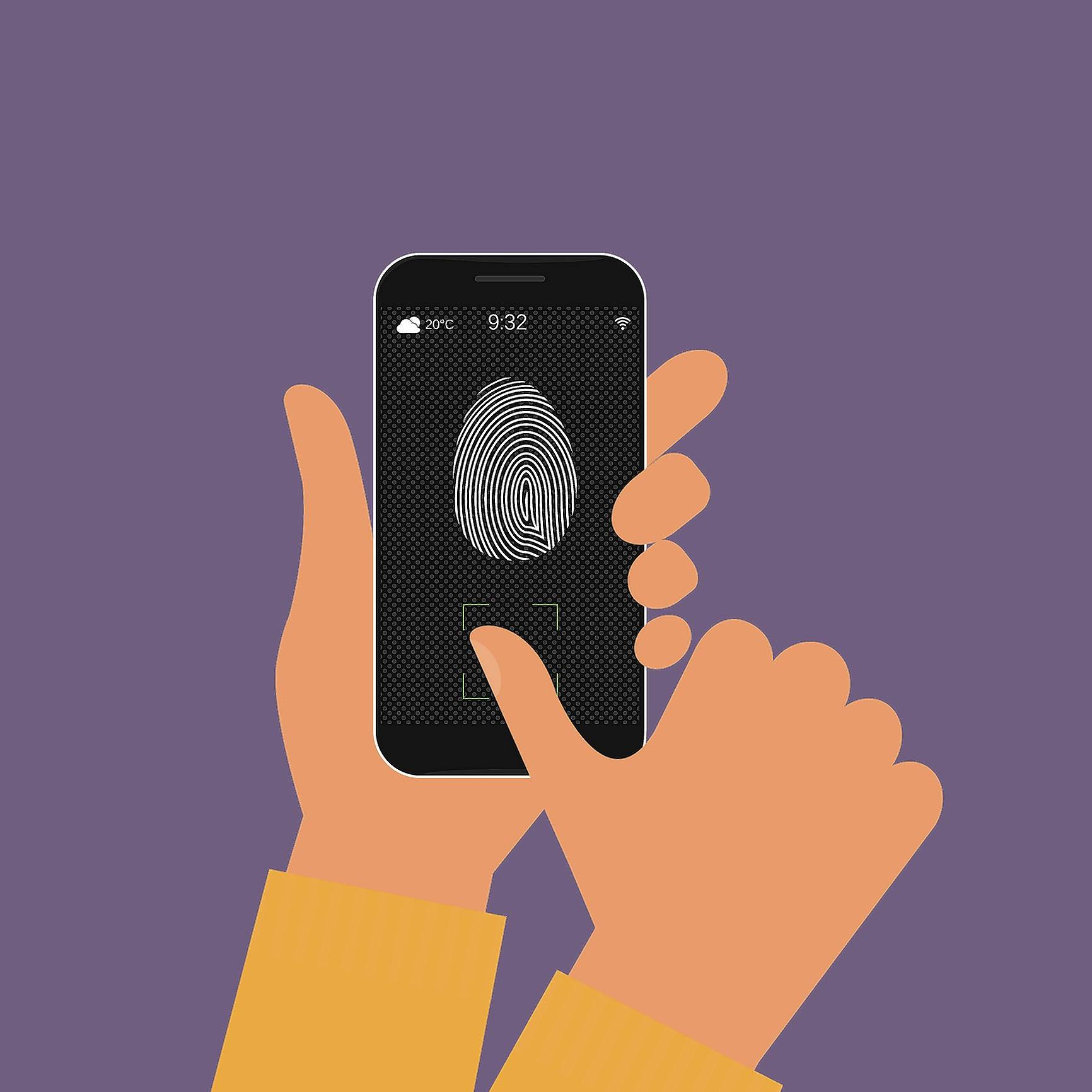 Using search warrants to get into fingerprint-locked phones