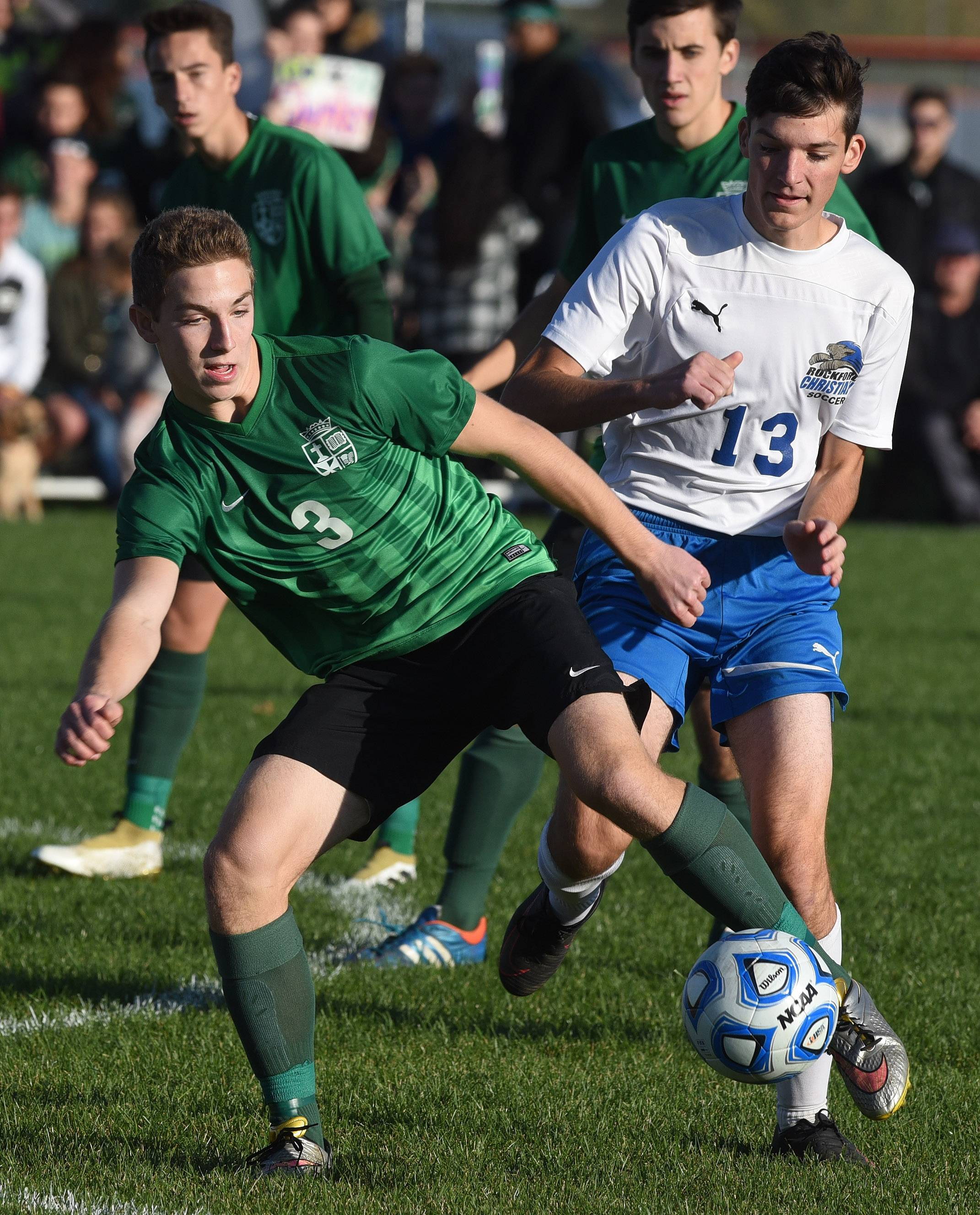 Boys soccer: First sectional crown for St. Edward