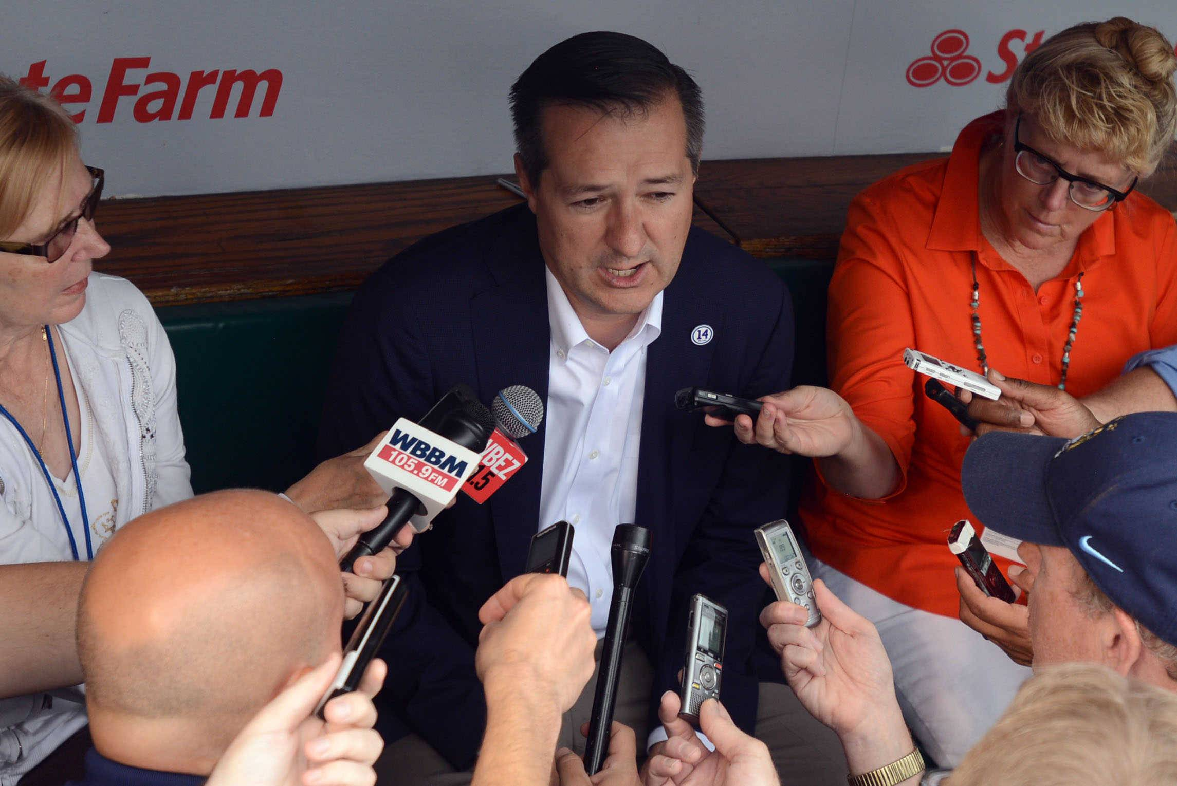 Chicago Cubs owner Tom Ricketts says he's most proud that his organization stuck with the rebuilding plan, and that no one panicked when things got rough.