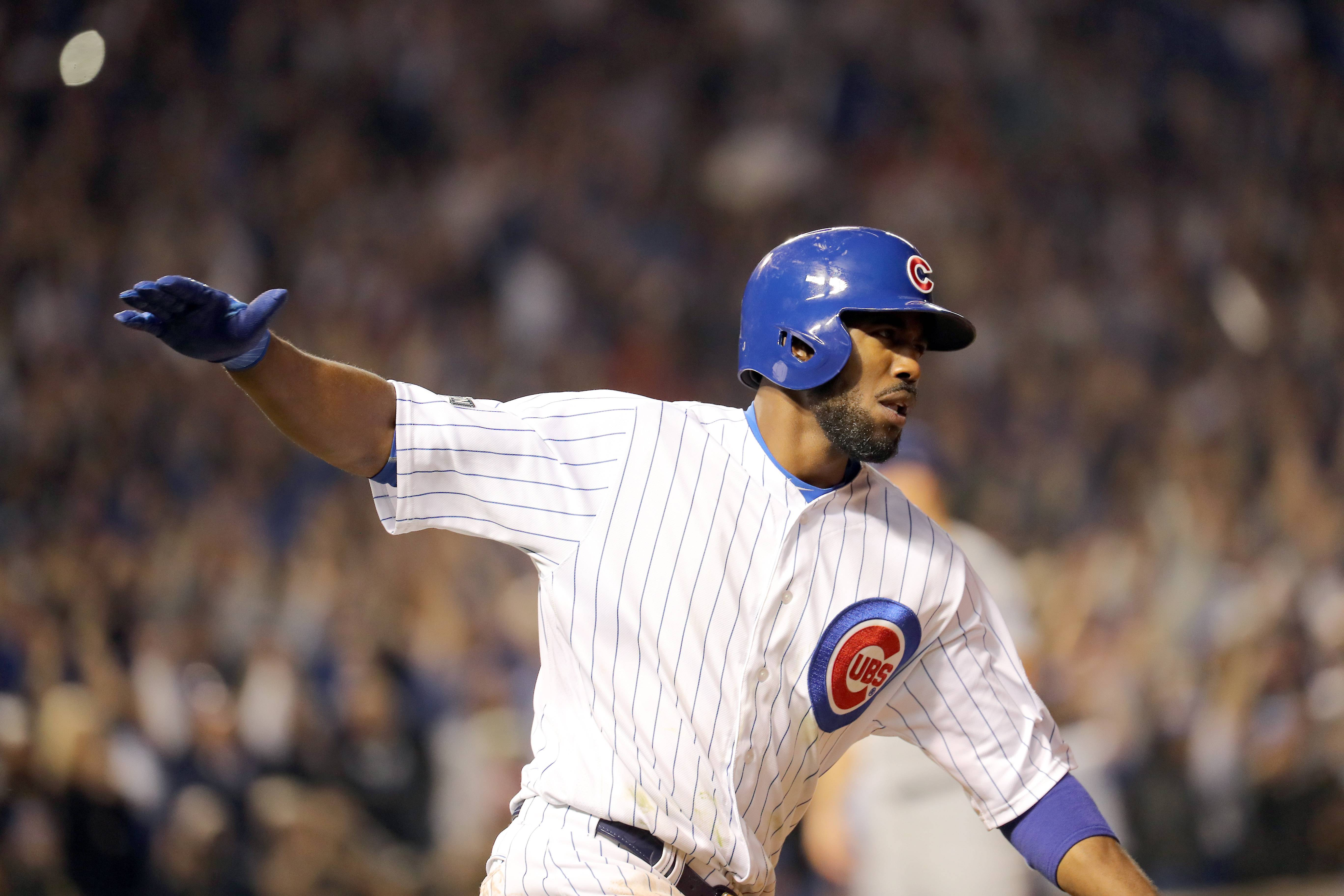 Through 10 postseason games, Chicago Cubs center fielder Dexter Fowler collected 18 total bases with a .262 batting average.
