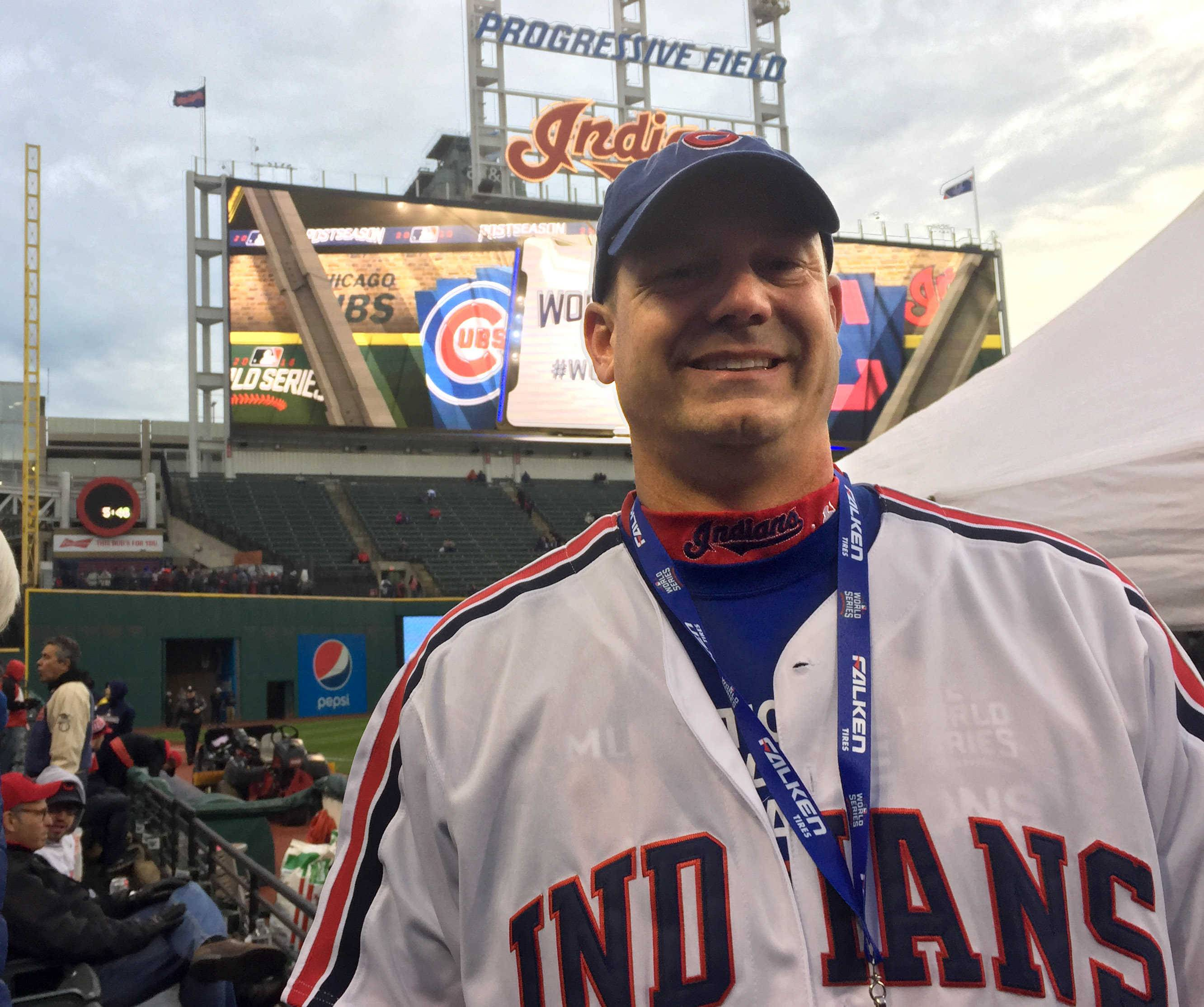 From C to shining C: A Cubs fan born in Cleveland walks the line