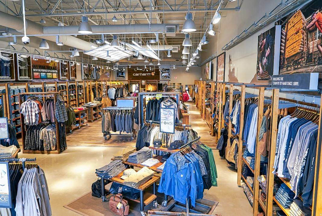Carhartt, known for its trendy rugged-style of clothing, will open a store at Gurnee Town Center on Friday.
