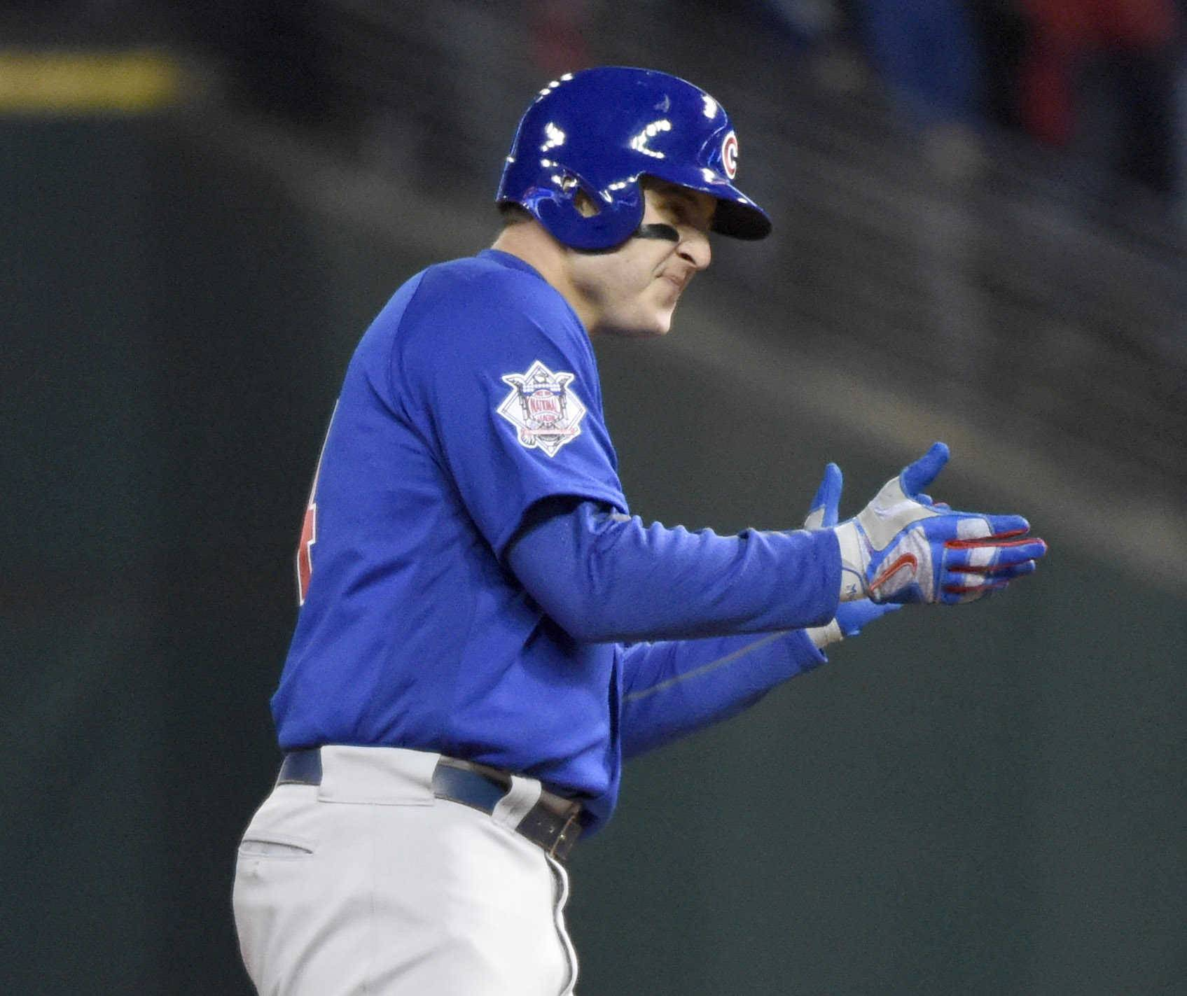 Anthony Rizzo insisted the Cubs weren't worried after Game 1, and they showed why in a Game 2 World Series victory.