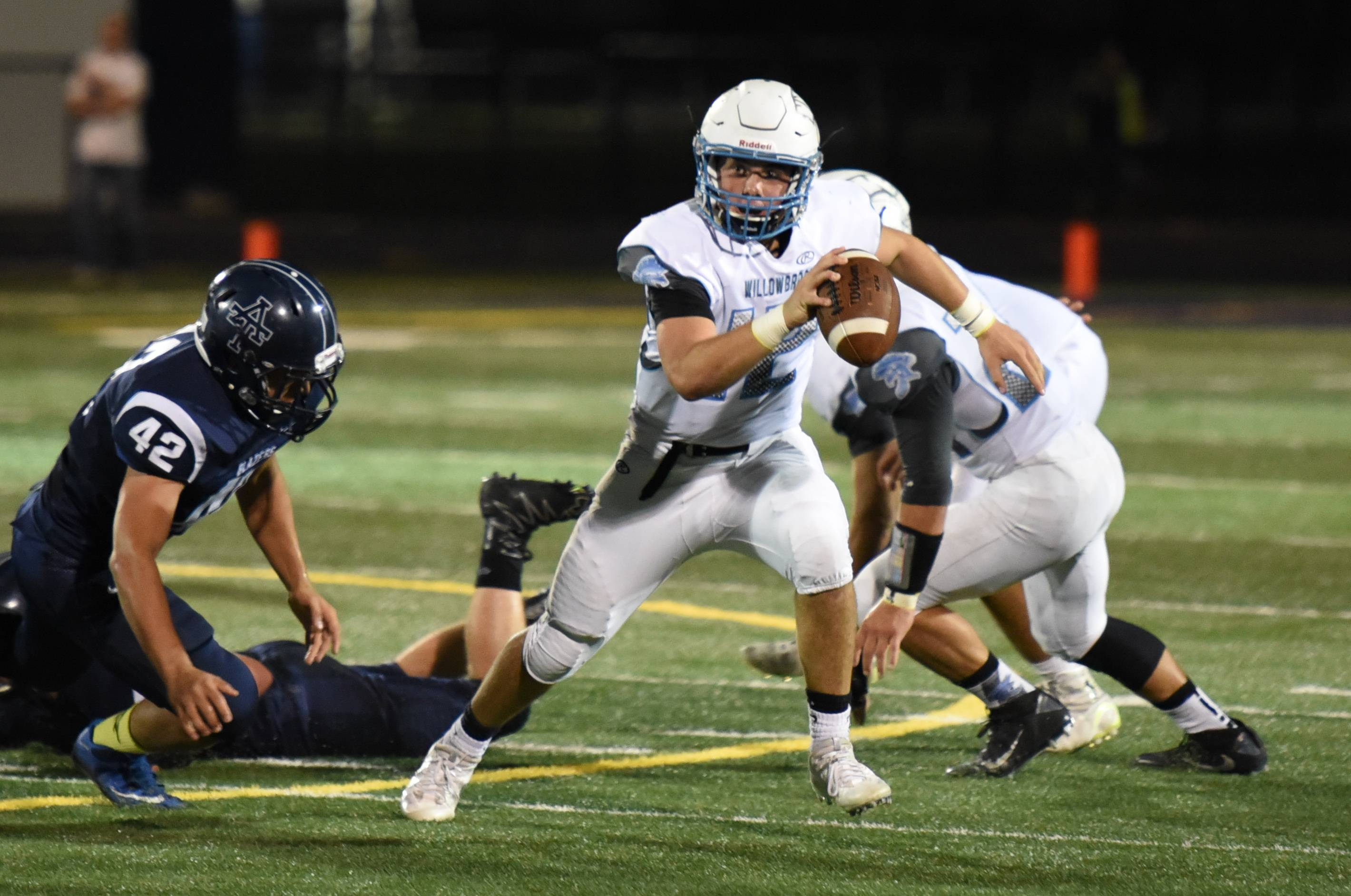 Willowbrook will head to Quincy on Friday for Saturday's Class 7A first-round playoff game.