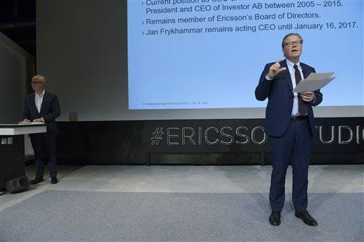 Ericsson names new CEO amid declining networks industry