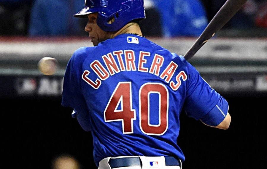 buy online d96f3 ca739 Chicago Cubs' Contreras to get bulk of playing time