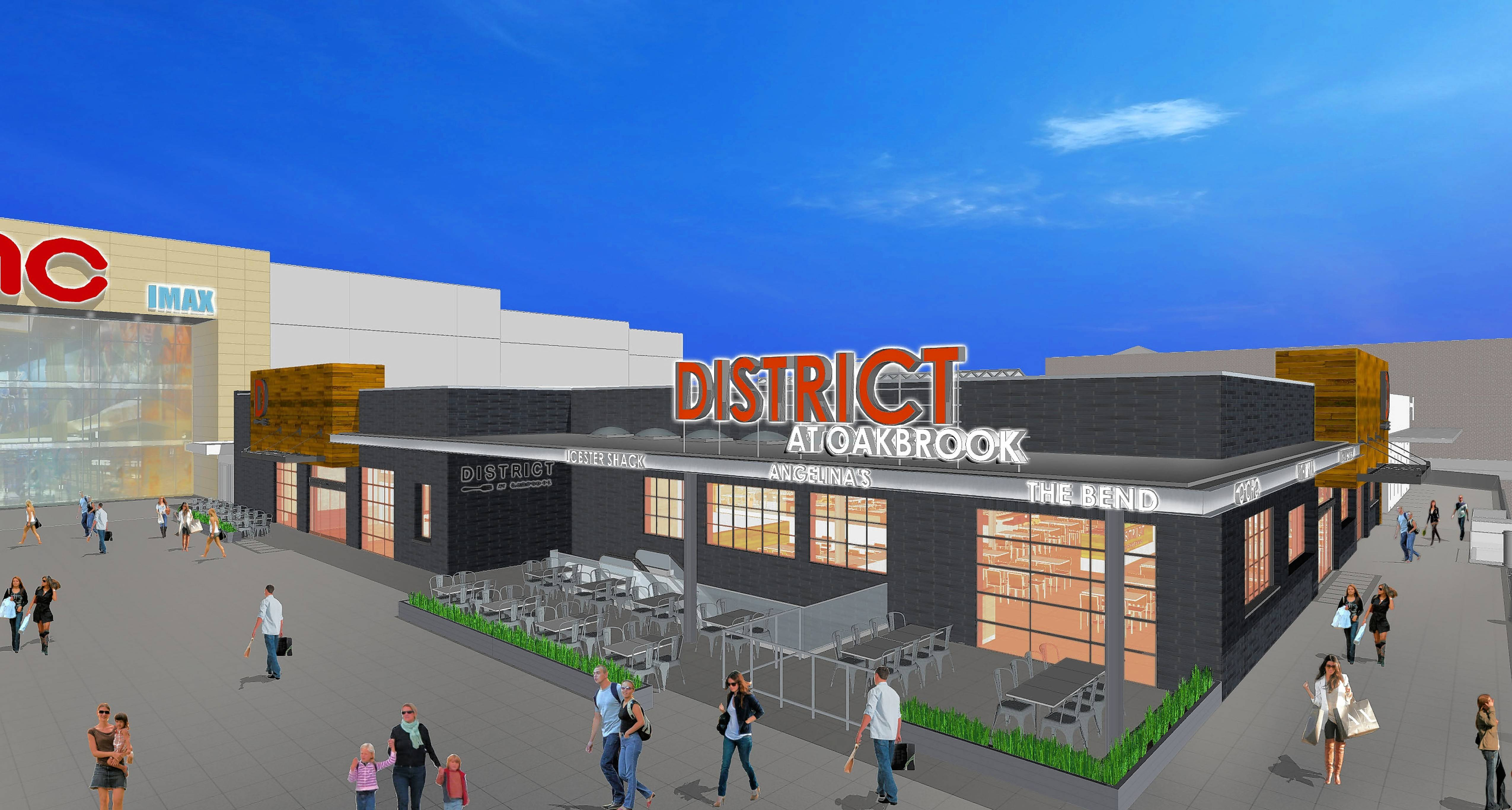 oakbrook center restaurants il. the new 14,000-square-foot dining district at oakbrook center will feature a mix restaurants il daily herald