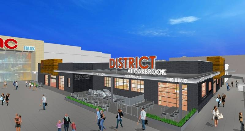 The new 14 000 square foot dining district at Oakbrook Center will feature  a mixDMK Burger Bar  Stan s Donuts among 11 restaurants opening at  . Oak Brook Il Restaurants Delivery. Home Design Ideas