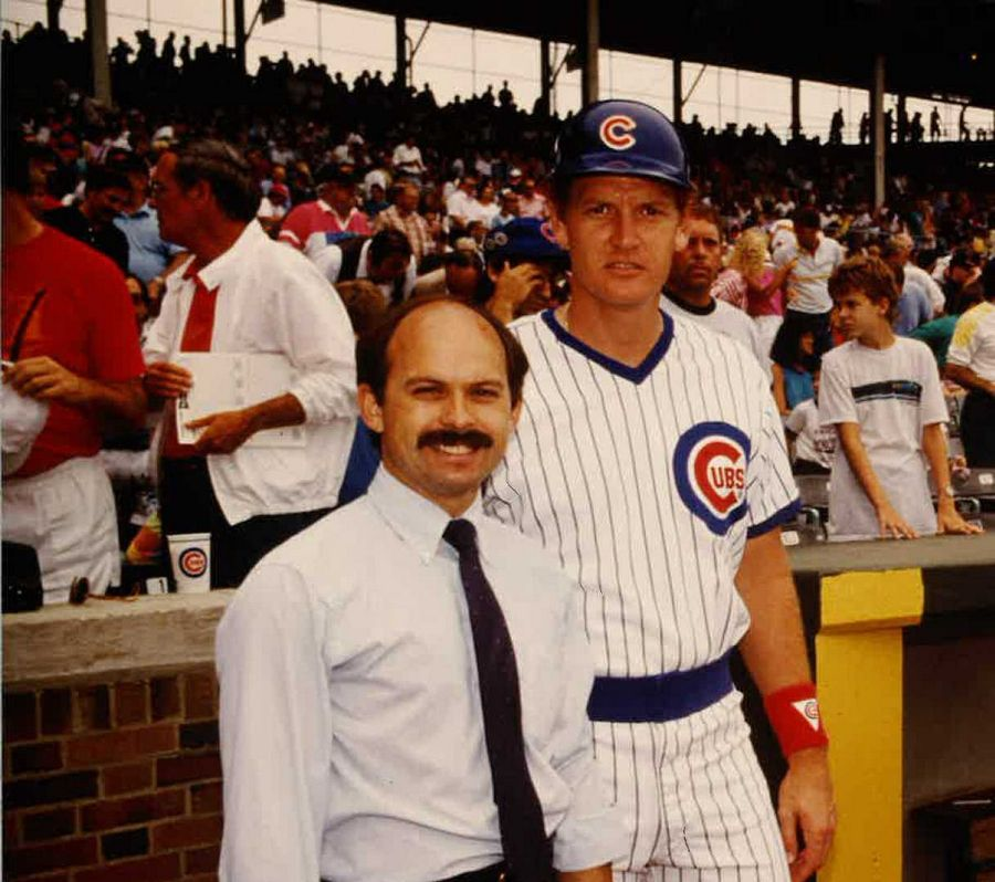Connie Kowal got to know many Cubs players during his time in the front office, including former catcher Jody Davis.