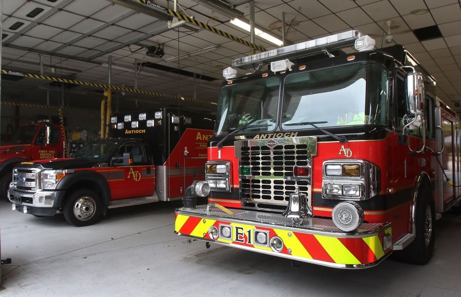 A measure on the Nov. 8 ballot will ask Antioch voters whether they want to join the First Fire Protection District of Antioch for fire and rescue services.