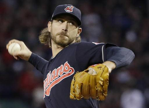 Indians' Tomlin to pitch in Series with ailing dad in stands