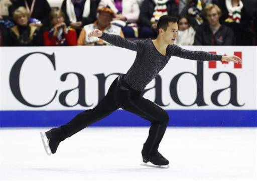 Canadian figure skater Patrick Chan won his 10th title on Saturday