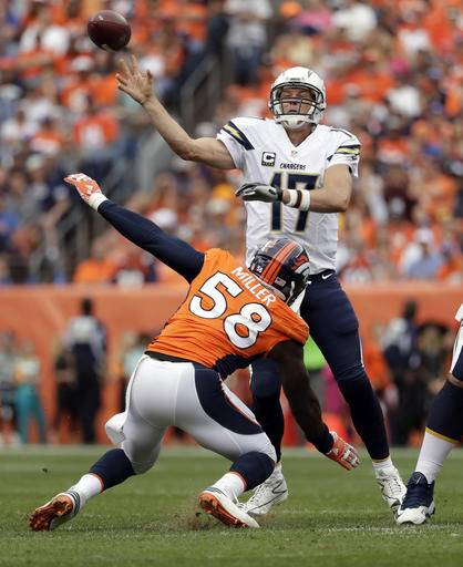 San Diego Chargers Broncos: Broncos' 27-19 Win Over Chargers Sets Up Showdown In Oakland