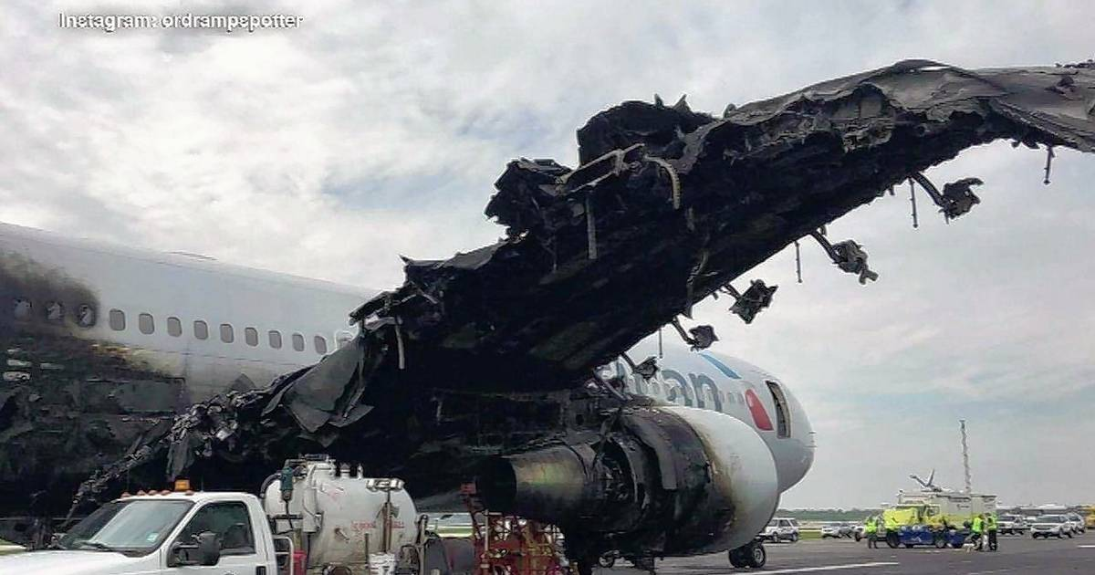 Plane In O Hare Fire Was Using Jet Engine Model That Had