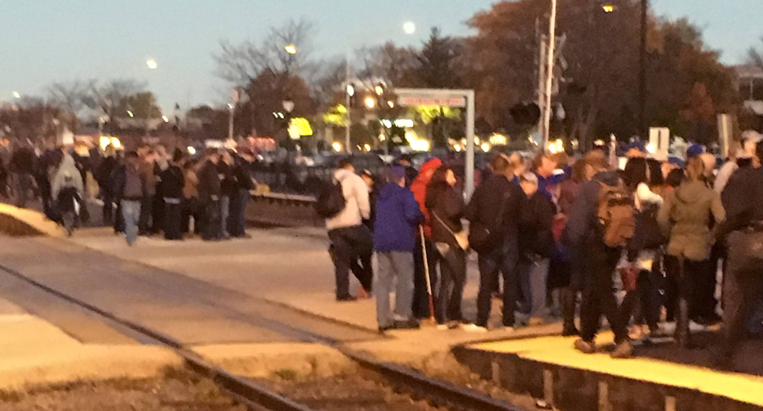 Metra: 'Busiest day' ever for Cubs Nation