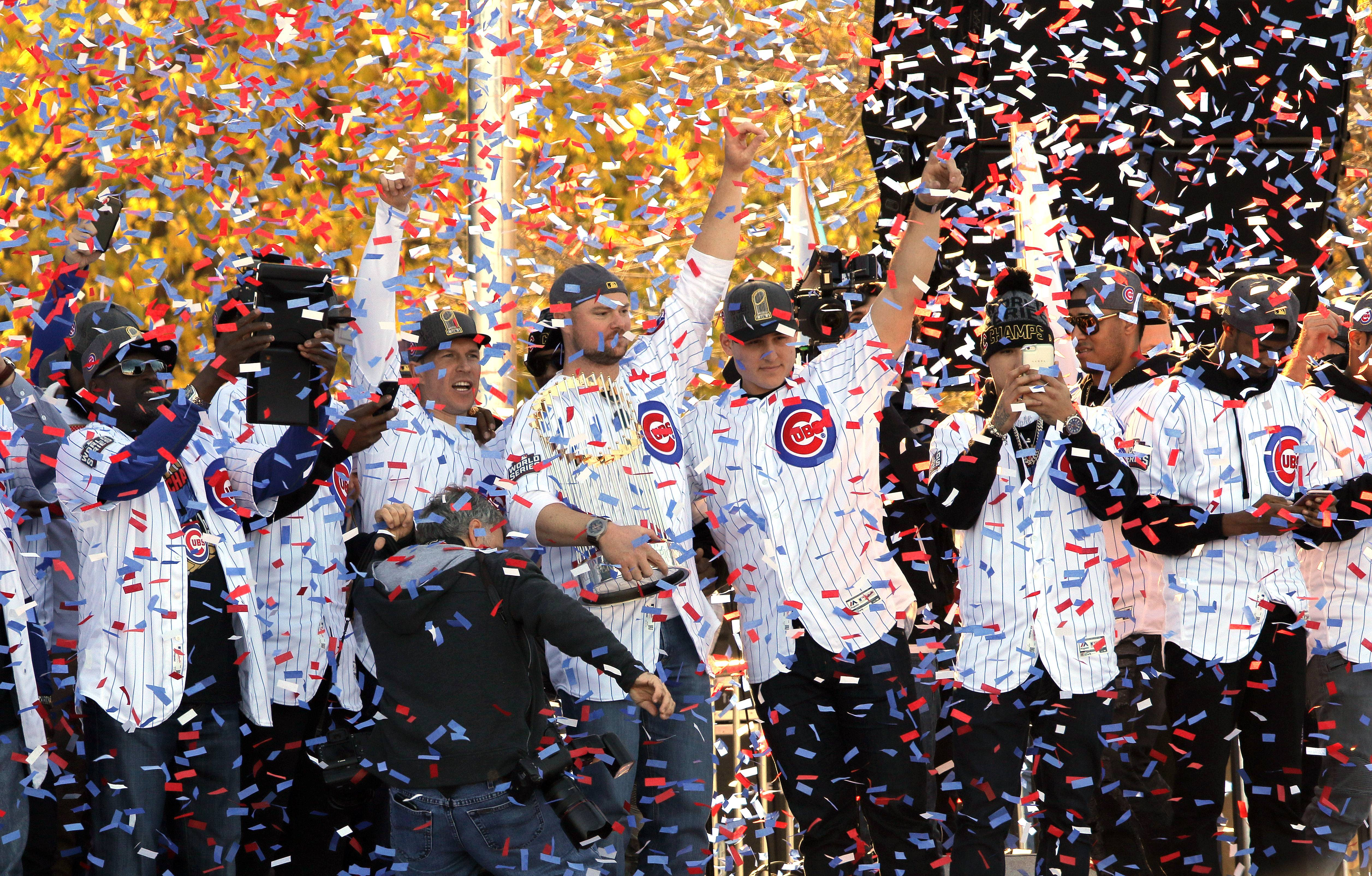 Images: Chicago Cubs' World Series victory celebration