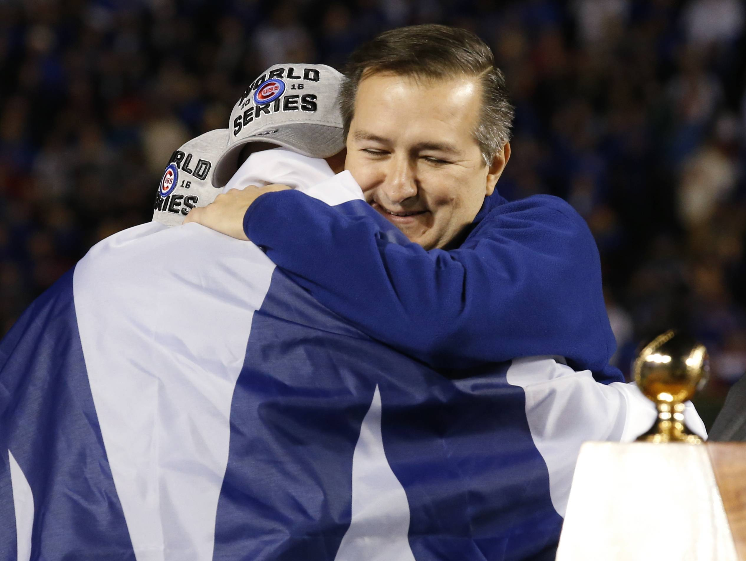 Ricketts finally gets to relish in Cubs' winning ways