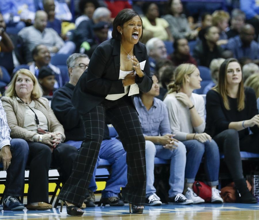 "Former Chicago Sky head coach and general manager Pokey Chatman said there are no hard feelings about being fired with a year remaining on her contract. ""Obviously, in the world of sports, these are decisions that are made sometimes and this is the route that ownership wanted to take,"" she said."
