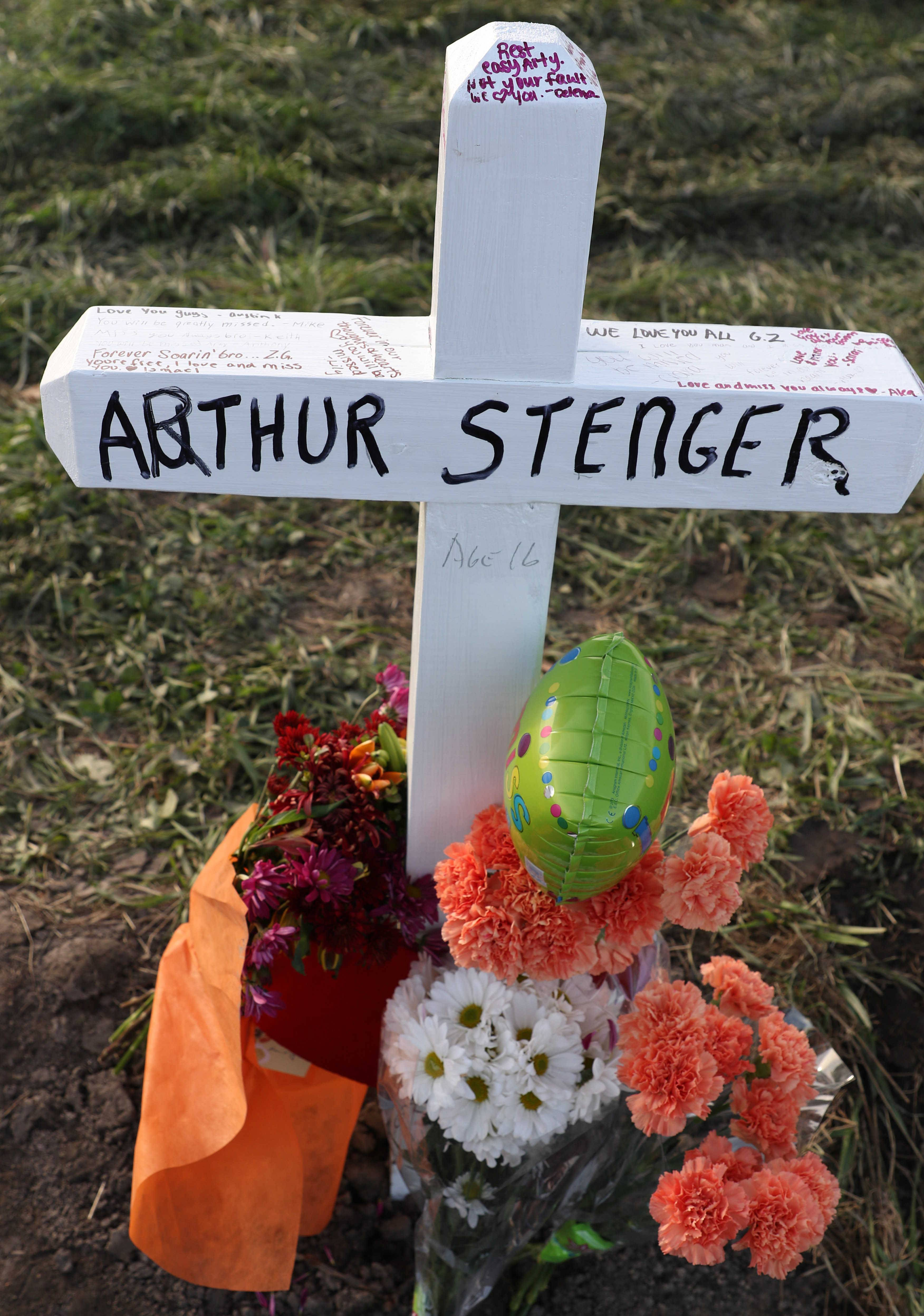 "Arthur ""Arty"" Stenger was one of two Kaneland High School students killed Saturday in a crash near Meredith and Beith roads northwest of Elburn."