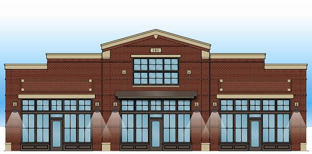 Design Plans For The Exterior Renovation Of 101 S. First St. In West Dundee