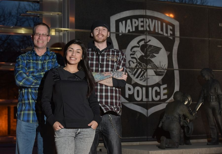 "Tim Ryan, Jessica Gerke and Brad Gerke are three of the speakers scheduled for a free anti-drug presentation Wednesday, Nov. 9, at the Naperville Municipal Center called ""Choices: The Cop, The Convict and The Kids."""