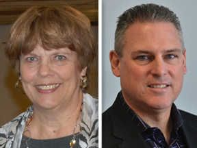 Democrat Valerie Burd and Republican Keith Wheeler are candidates for the 50th District House seat.