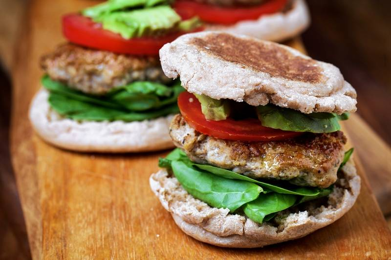 ... breakfast healthy by making your own turkey sausage for sandwiches