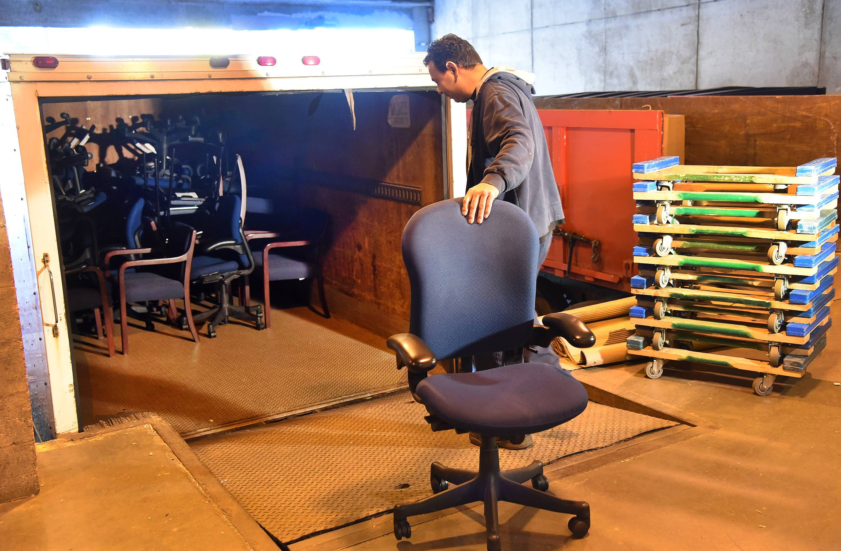 zurich north america donating old furniture to agencies in need