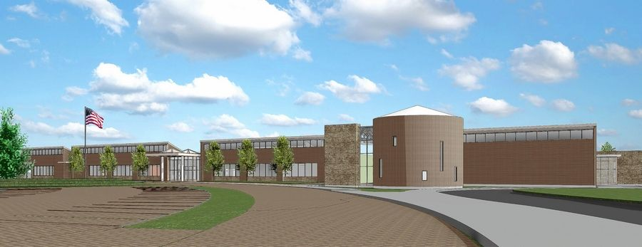 Voters on Tuesday rejected a plan to build this $29 million Early Learning Center for River Trails Elementary District 26 in Mount Prospect.