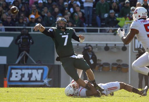 Michigan State snaps skid with 49-0 rout of Rutgers