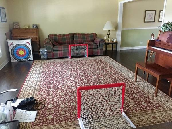 large open family room seems awkward