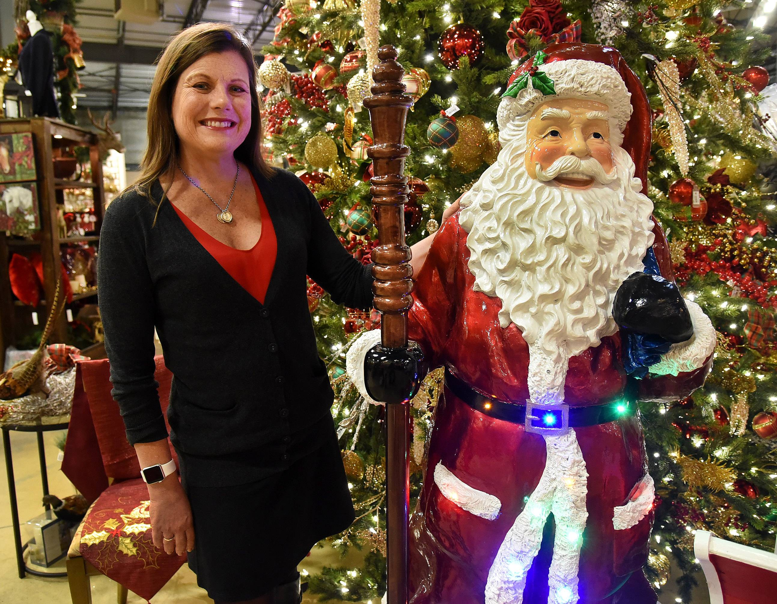 Treetime Christmas Creations owner Laurie Kane says decorations in local homes only get more and more elaborate.