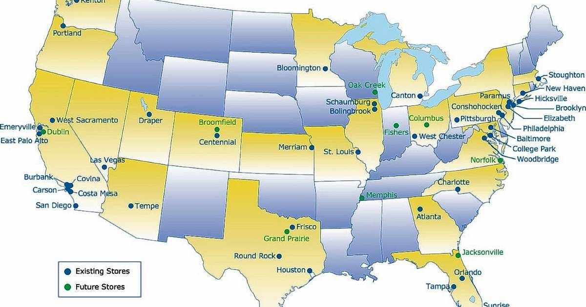 Amazon Ikea Among Those Building Up Joliet SW Suburbs - Location of atlanta in usa map