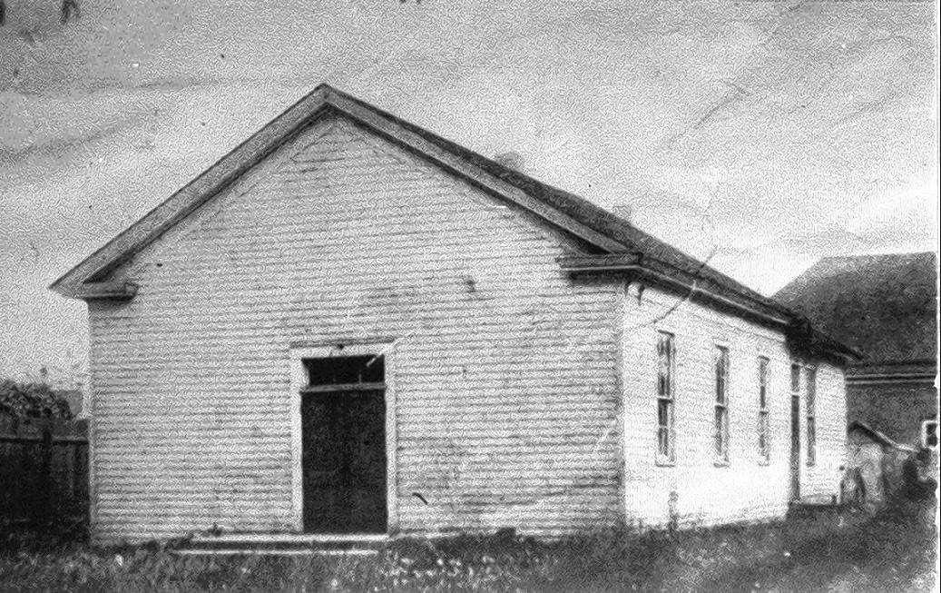 When the First Congregational Church of Dundee was founded in 1841, it operated out of this small schoolhouse.