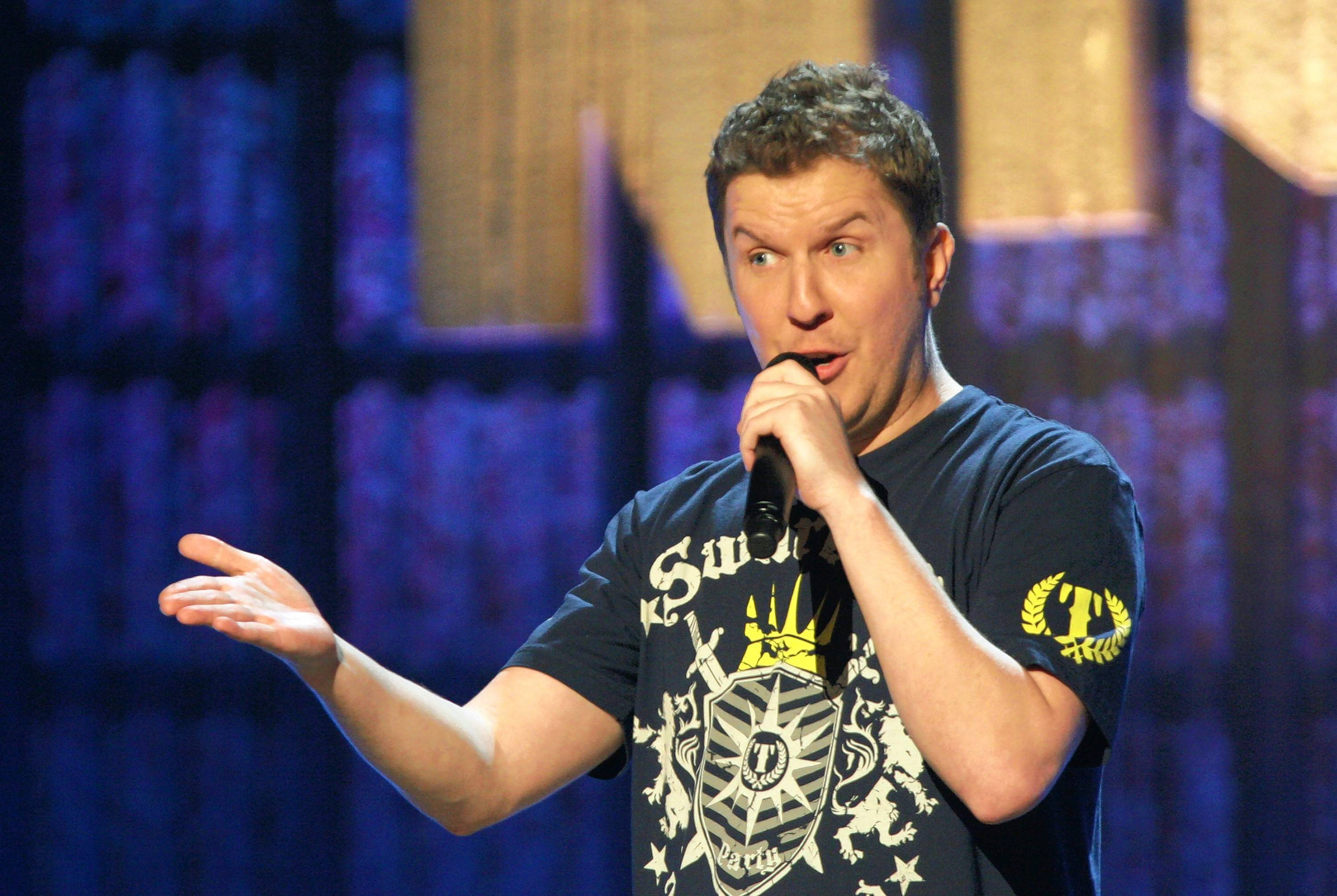Comedian Nick Swardson performs at the Improv Comedy Showcase in Schaumburg.