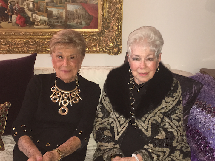 Beverly Goodman (left) and Elvie DeHaven (right)