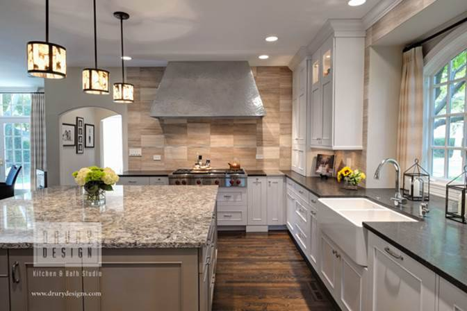 An Award Winning Large Kitchen Design For A Home In Hinsdale Is One Of Eight