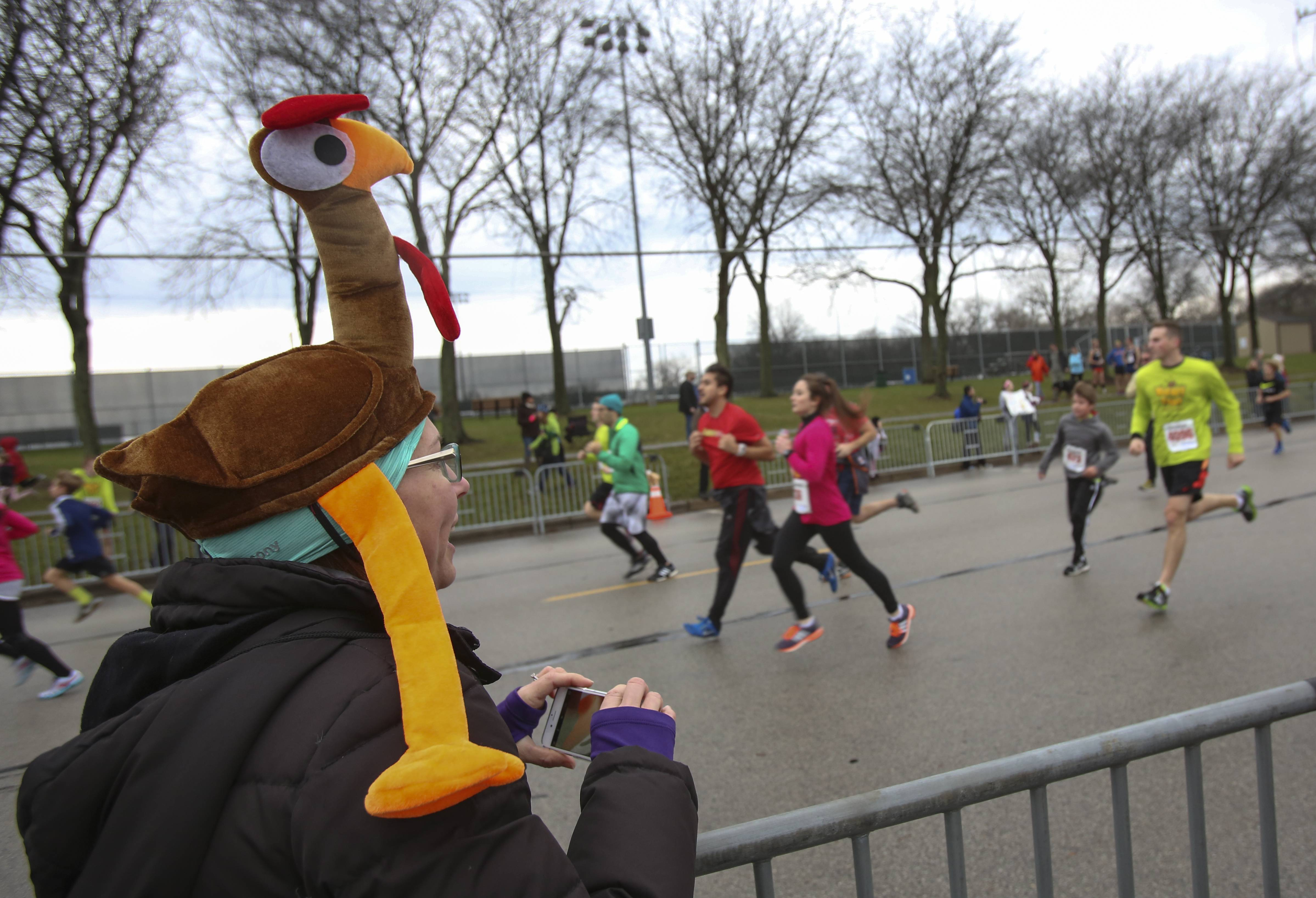 Several DuPage communities offer turkey trot races where runners can work off their calories before the Thanksgiving feast.