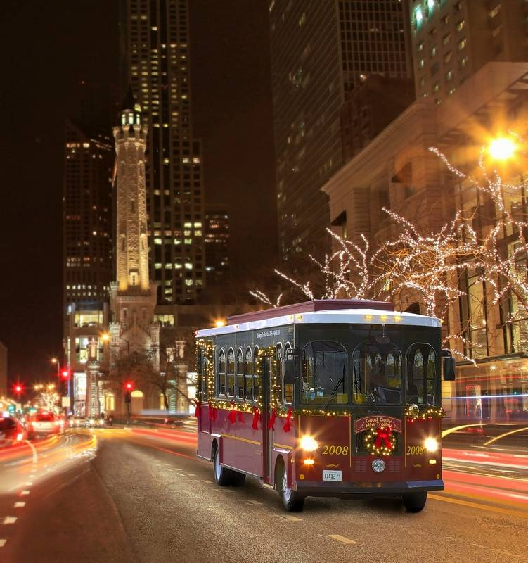Chicago Lighting Company: Midwest Travel: Tour The City's Lights On A Chicago Trolley