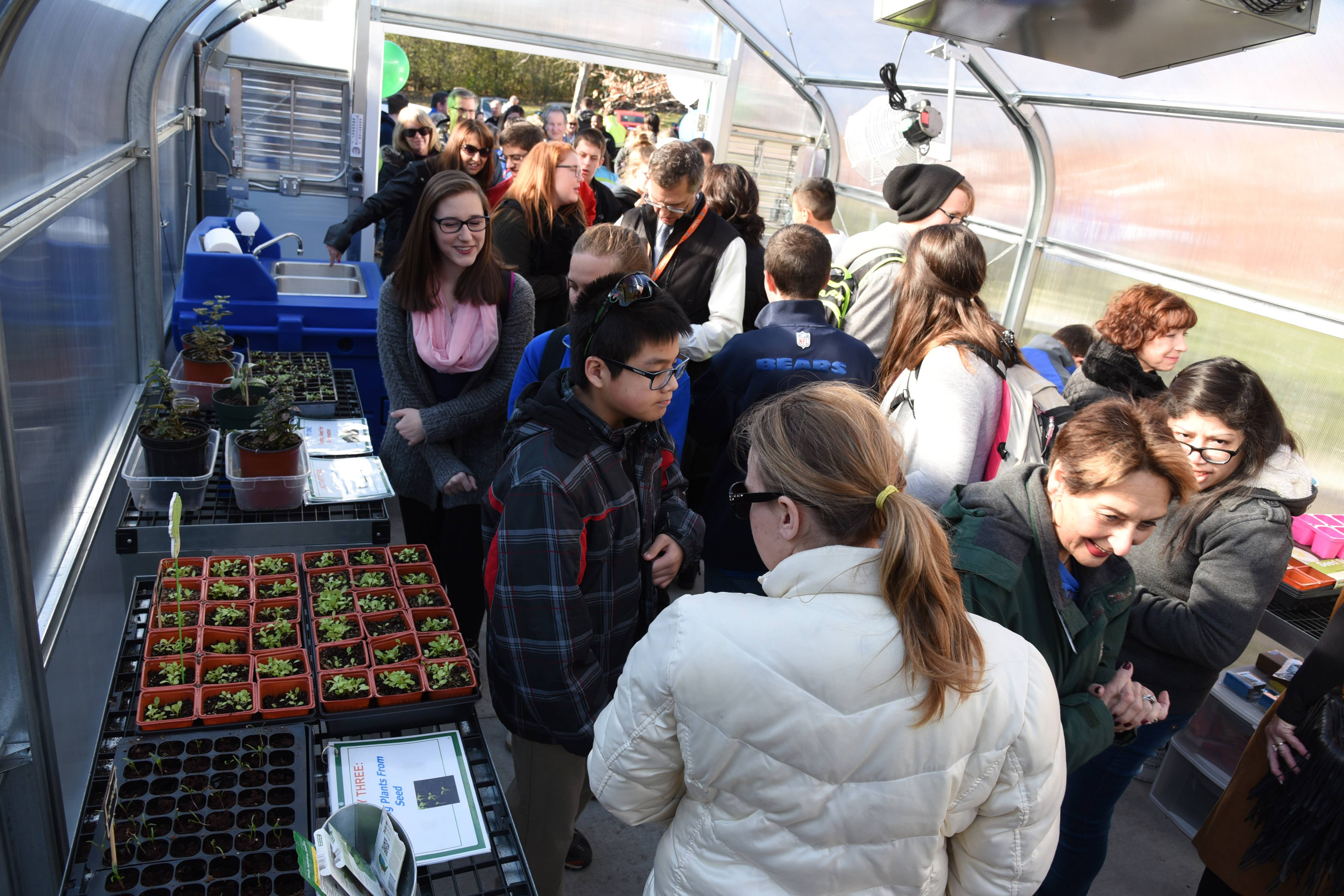 Lake Zurich High School debuts a greenhouse geared to help older students with disabilities gain skills for everyday living and possibly horticulture-related jobs.