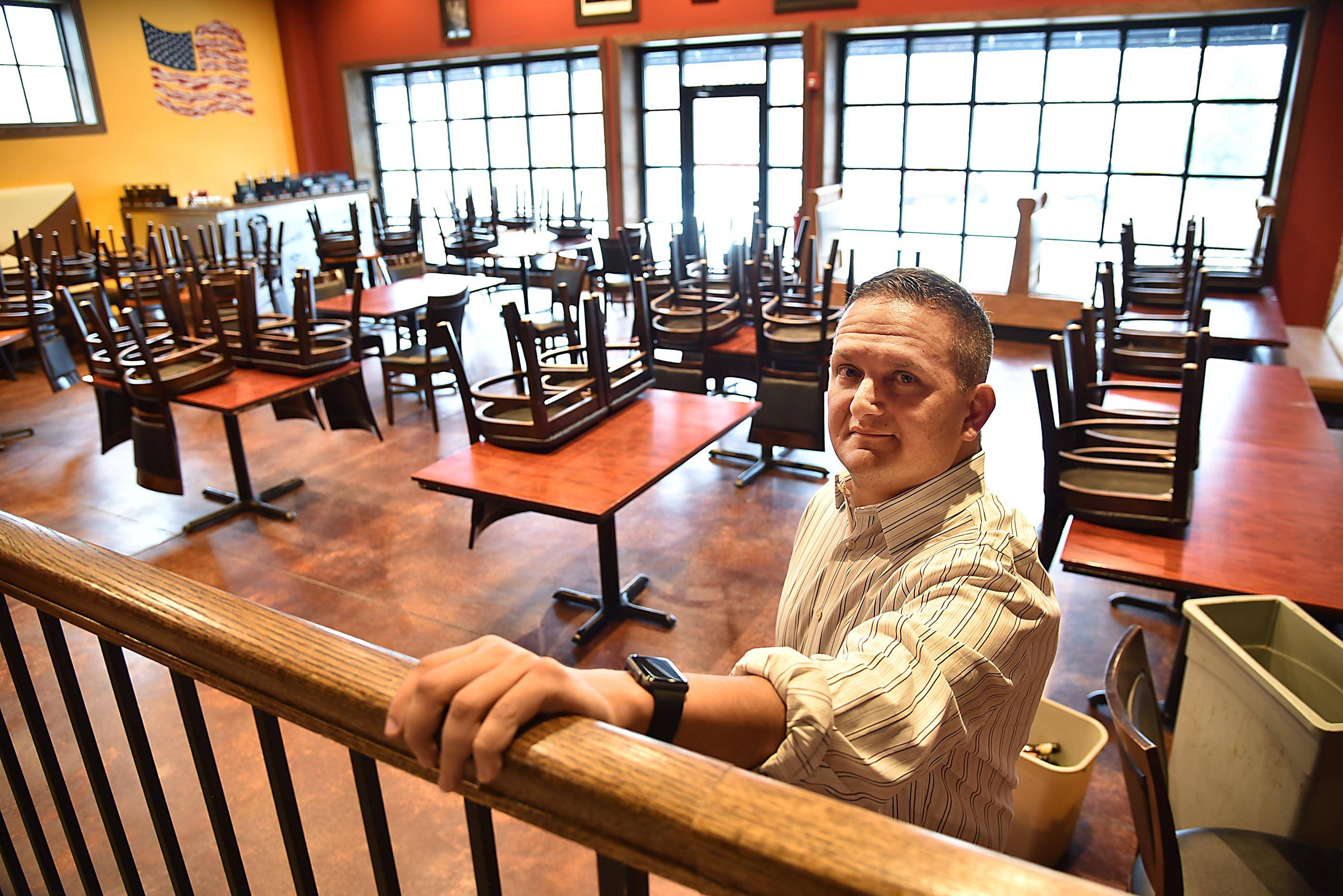 Loren Rattner is hoping to open River Street Tavern in downtown East Dundee before the end of the year.