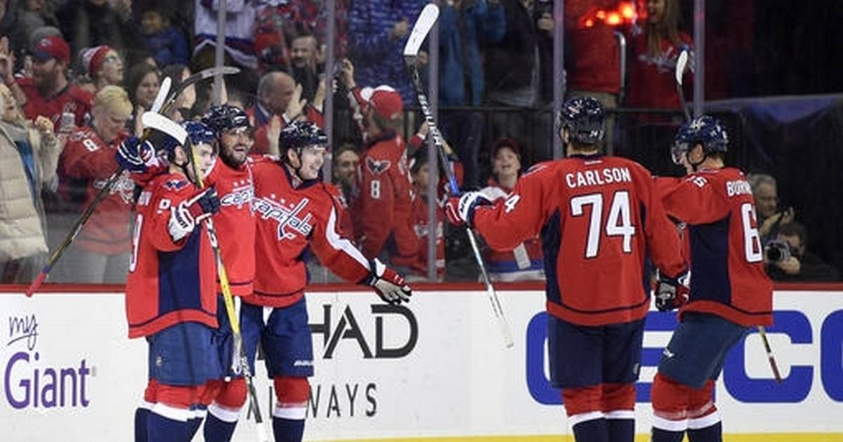 94e8477e74f Ovechkin s 16th hat trick sends Caps to 4-3 win over Blues