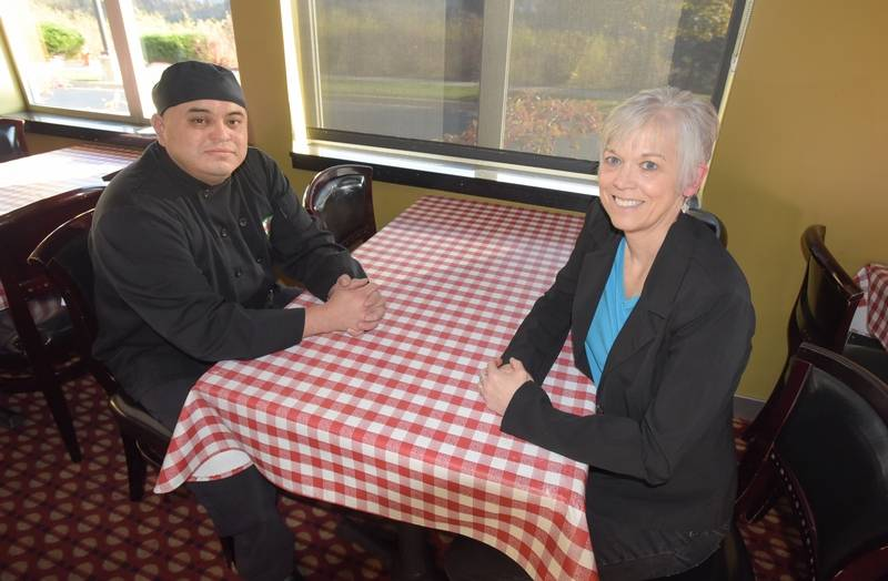 jorge blancas kitchen manager at aurelios pizza in naperville gets tutoring once a week