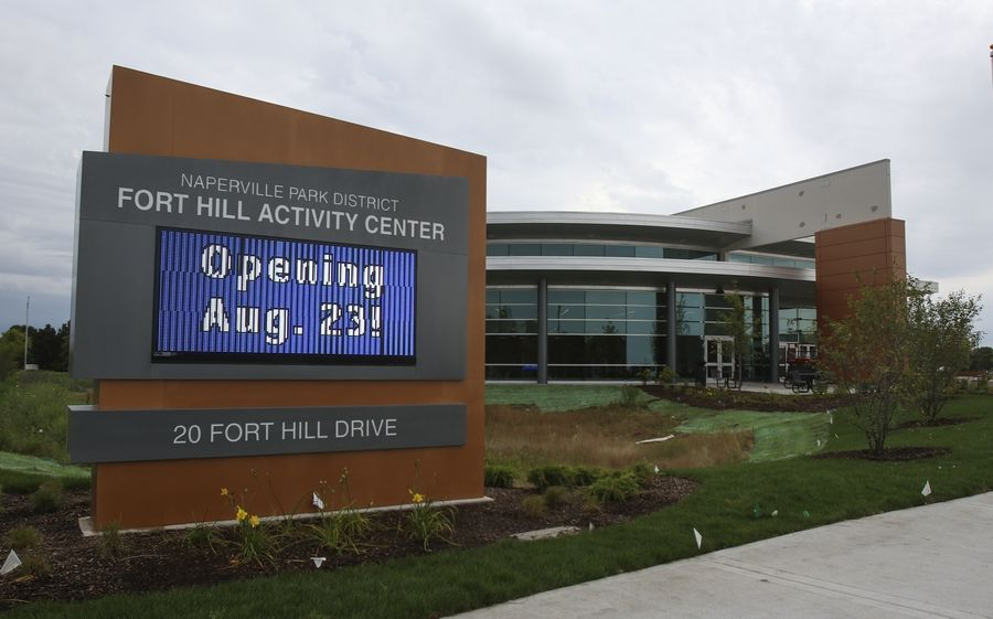 The $24 million Fort Hill Activity Center has been the focus of Naperville Park District's capital spending for the past few years. But with the facility open since August, the district is planning 2017 as a year to survey the community and set a new focus before embarking on any new projects.